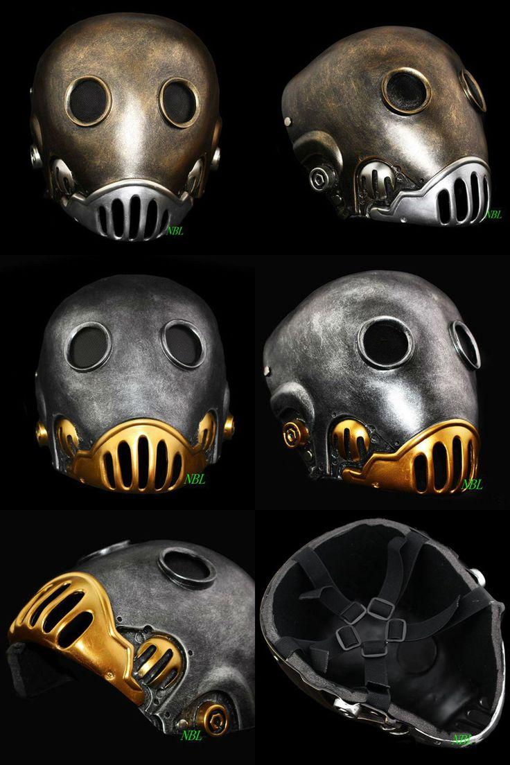 [Visit to Buy] Horror The Clockwork Man Masks Halloween Hellboy Movie Masquerade Kroenen Full Face Helmet Resin Mask Adult Size Cosplay Prop #Advertisement