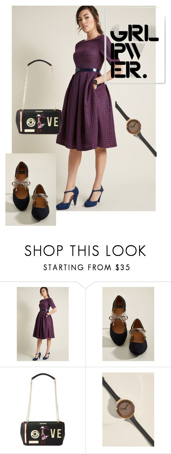 """""""dress"""" by masayuki4499 ❤ liked on Polyvore featuring RumbaTime and Stupell"""