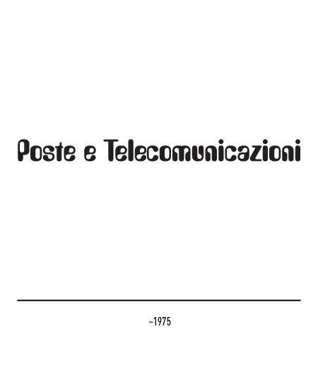 Marchio Poste Italiane - ~1975