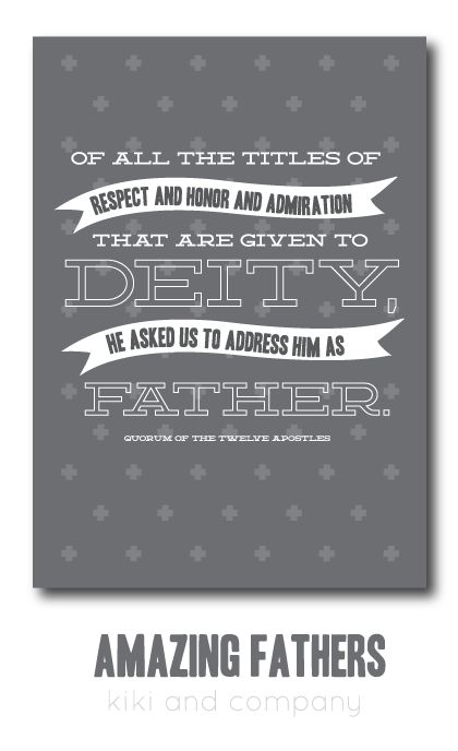 Amazing Fathers {free Father's Day printables}..Love this print to remind the dads in our lives just how amazing they are! Perfect for Father's Day!
