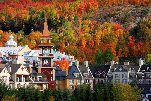Mont Tremblant, Quebec, Canada ~ Photographer: Gunther Schwermer