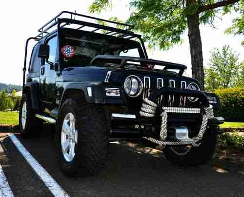 2000 lifted jeep wrangler | 2000 Jeep Wrangler TJ Sport 4.0L/5spd,Black,Cold AC,Lifted,Low Miles ...