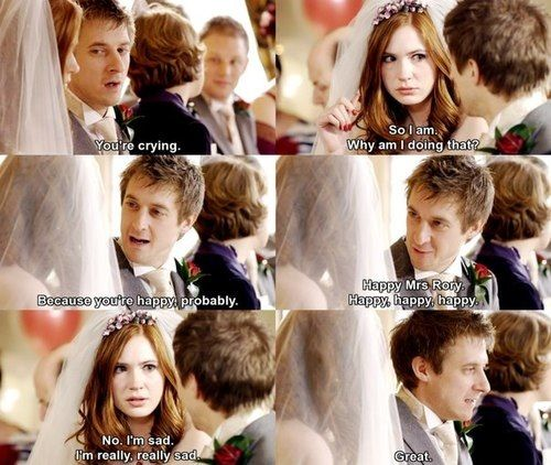 I think Arthur Darvill might be one of the best actors ever.   Amy and Rory   Doctor Who