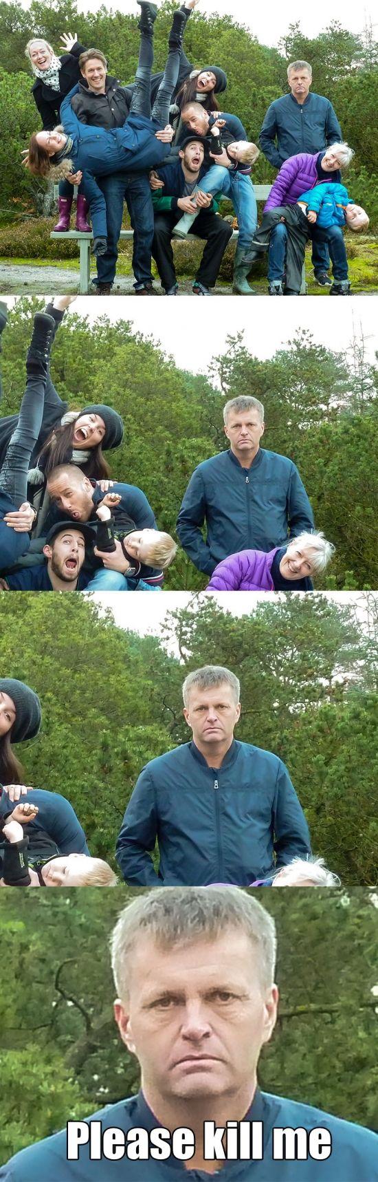 El típico familiar que es la alegría de la huerta