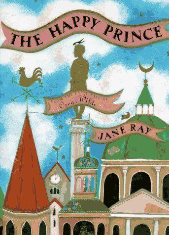 The Happy Prince by Oscar Wilde http://www.amazon.com/dp/0525453679/ref=cm_sw_r_pi_dp_4yKNtb0APA17WKS5