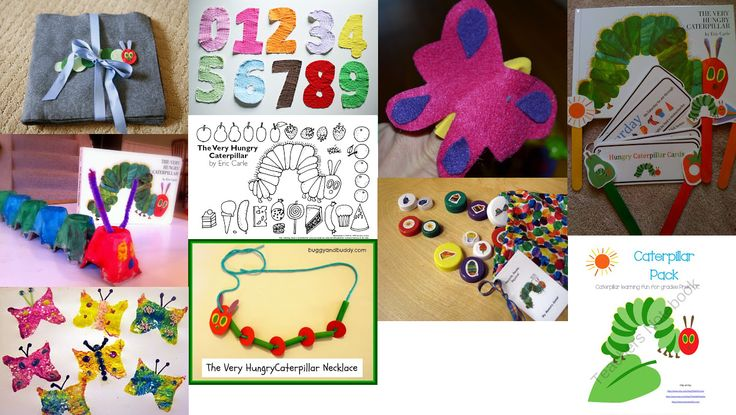 The Very Hungry Caterpillar Preschool Roundup - crafts, lesson plans, and activities