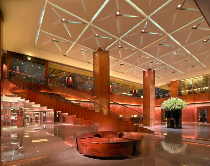 Step into the spacious and modern lobby at Grand Hyatt Singapore.