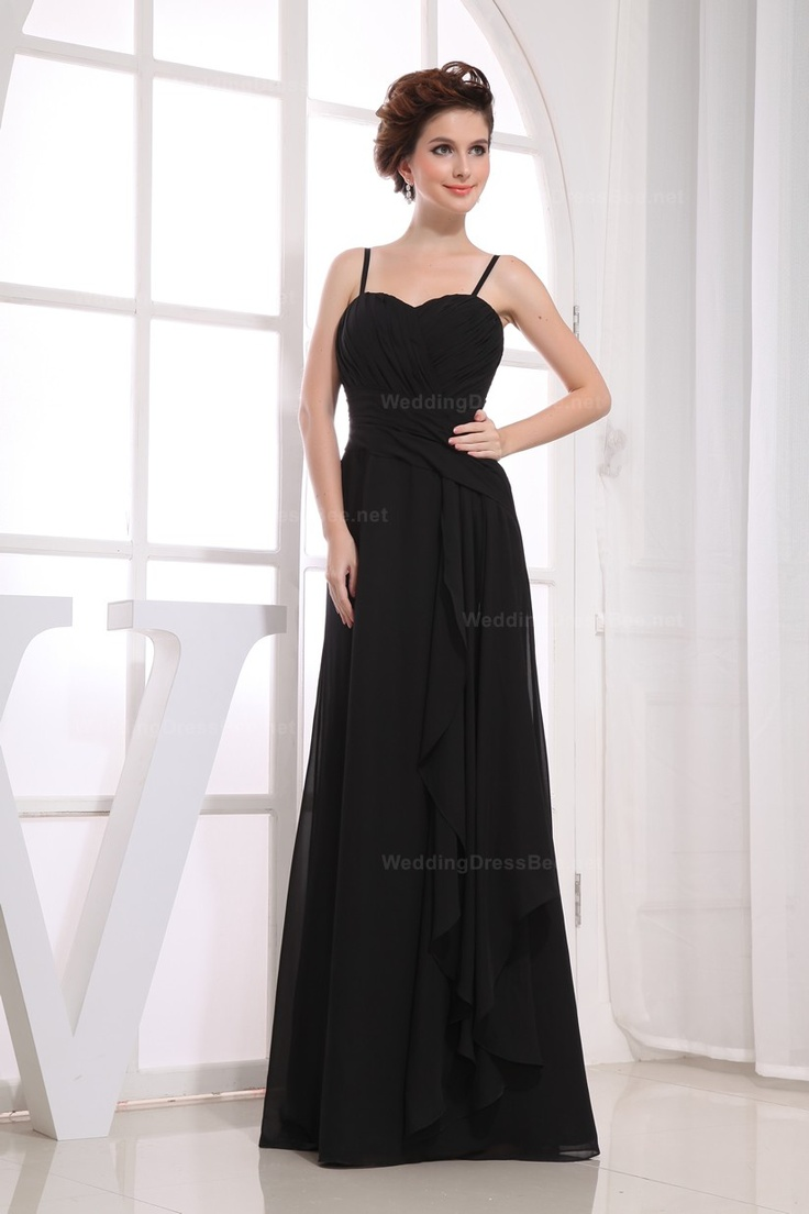 79 best bridesmaid dresses images on pinterest bridesmaids spaghetti straps floor length refined chiffon dress with ruffle and ribbon 12898 ombrellifo Choice Image