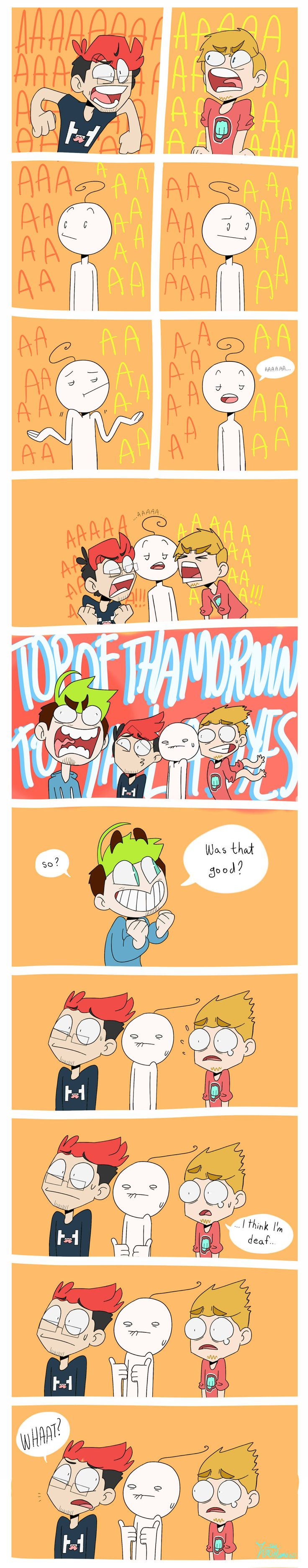 Jacksepticeye, Markiplier, Cryaotic, and Pewdiepie.