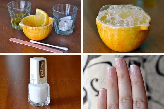DIY - sbiancamento unghie