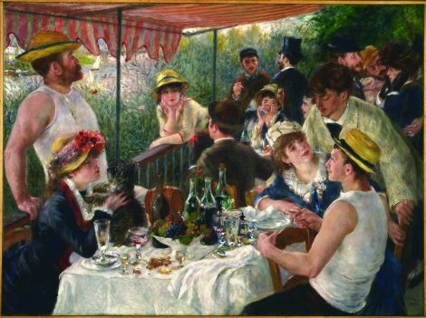 I'm putting on my event planner hat to offer up the following ideas for a party inspired by an Impressionist painting ... potential date: End of July