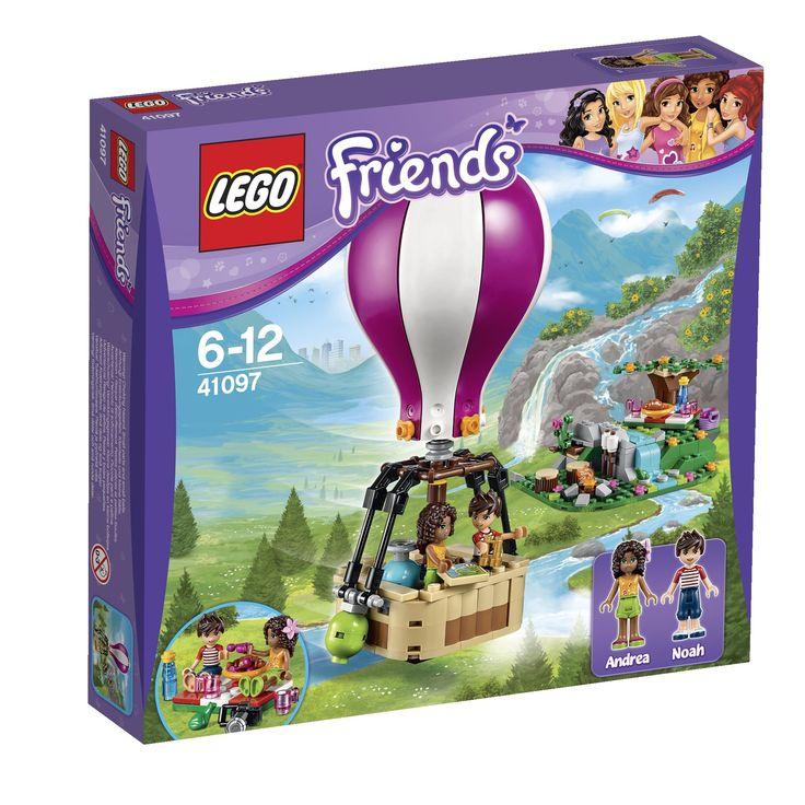 Lego Friends 41097 - Heatlake Heißluftballon