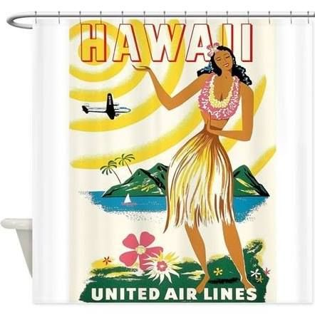 hawiian shower curtains - Google Search