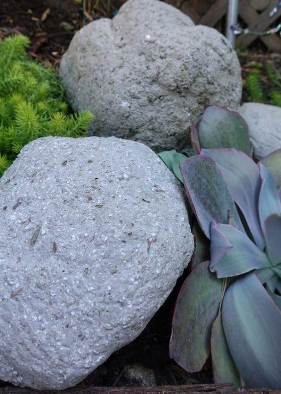 Die besten 25+ diy kuenstliche Steine Ideen auf Pinterest Kaktus - kunstfelsen selber machen