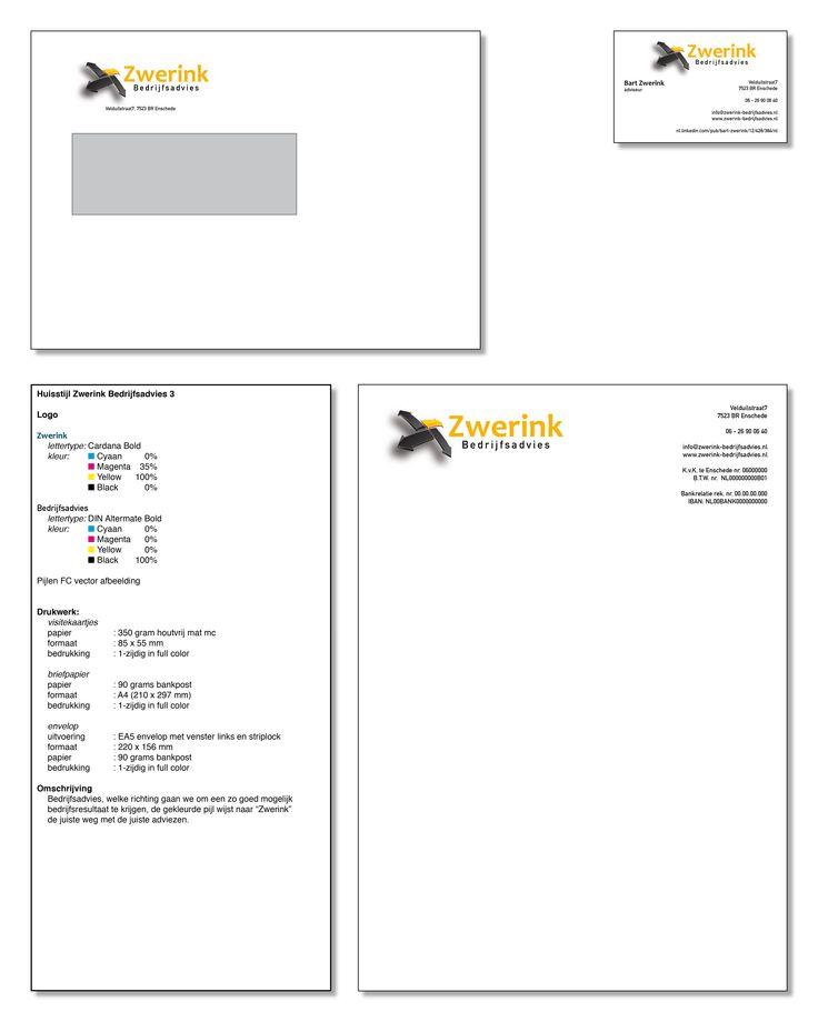 Presentatie ontwerp huisstijl Zwerink Bedrijfsadvies no: 3