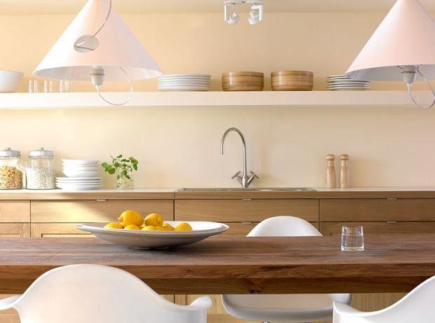 """Macht die Küche behaglicher: SCHÖNER WOHNEN-Trendfarbe """"Limone"""""""