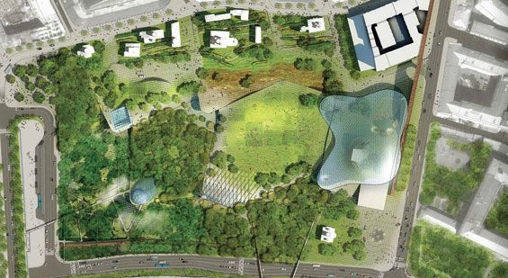 ds+r win zaryadye park design competition « world landscape