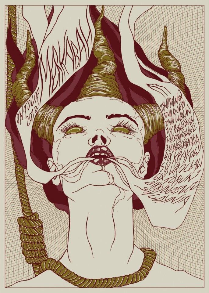 Merkabah Tour poster by Olga Sienkiewicz