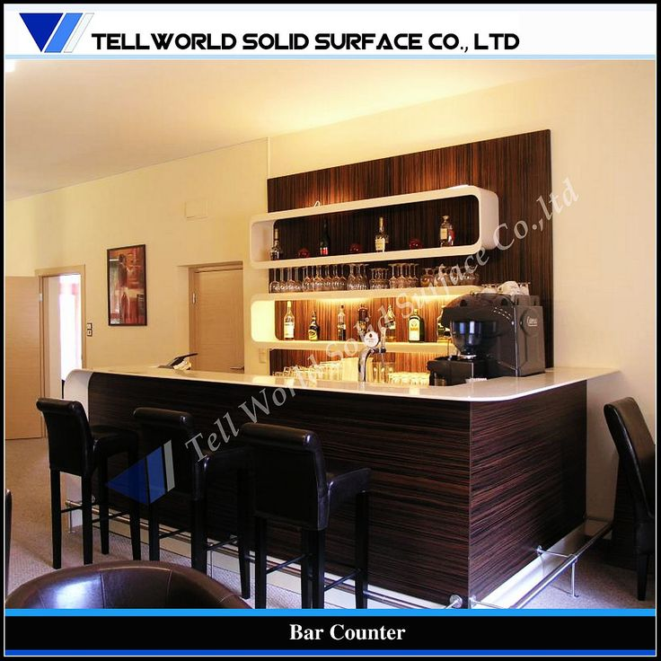 Home Bar Furniture Bar Counter Picture From Tell World Solid Surface Co View Photo Of Home Bar Furniture Bar Counter Food Counter Artificial Stone Food