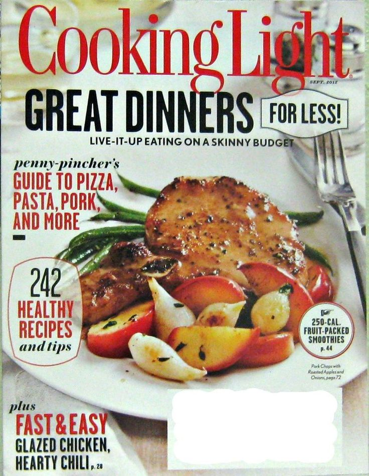 87 best cooking light magazine images on pinterest cooking light great dinner recipes for less cooking light magazine sept 2012 vol26 no forumfinder Gallery