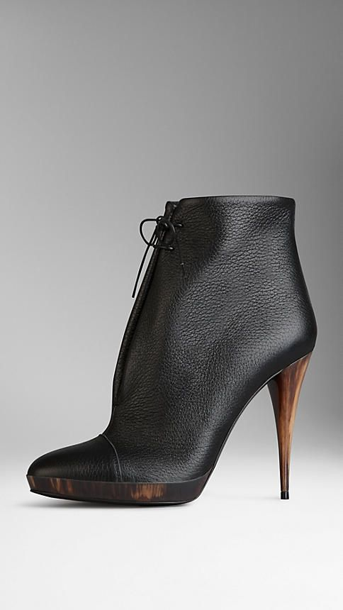 Deerskin Ankle Boots | Burberry