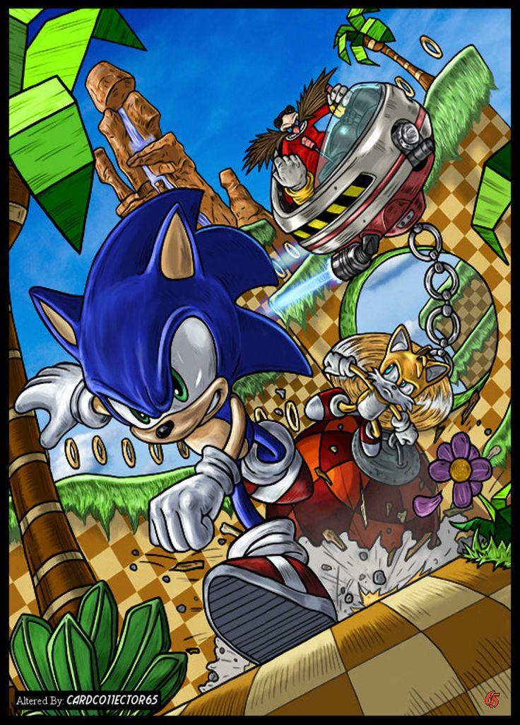 Sonic the Hedgehog - MTG - Sleeves