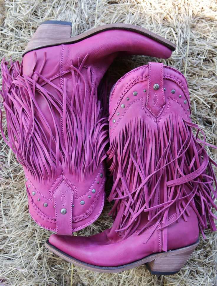 THE RAMBLER BOOT- PINK - Junk GYpSy co.