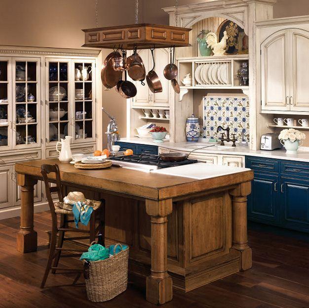 Кухня в стиле прованс. Особенности стиля.