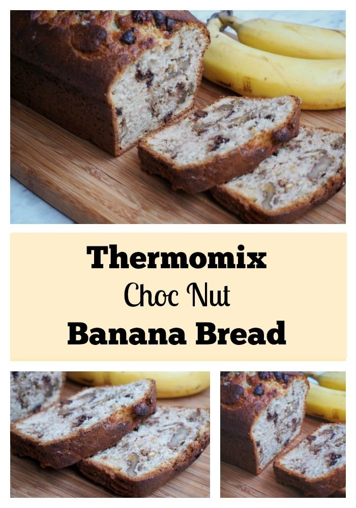 Take your banana bread to the next level with the addition of choc chips and walnuts!