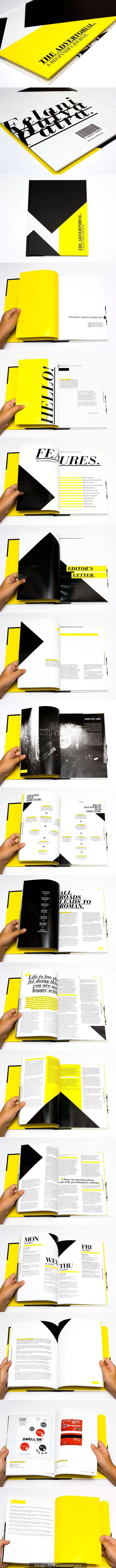 THE ADVERTORIAL / A Beginner's Journal