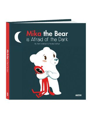 (Auzou) The longest night of the year is fast approaching and Mika is terrified. As the sun goes down, the dancing shadows, the whistling wind, and other hisses all become too much for this little polar bear. MIKA THE BEAR IS AFRAID OF THE DARK