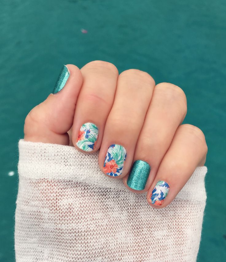 Island dreams and jaded... swap Jaded for Splash gel?