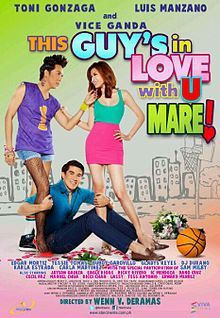 This Guy's In Love With U Mare! is a 2012 Filipino comedy film under Star Cinema and Viva Films. It stars Vice Ganda, Luis Manzano and Toni Gonzaga, and it is directed by Wenn V. Deramas. The film received mixed reviews from Filipino critics. It currently holds the title of the fourth highest-grossing Filipino film of all time.