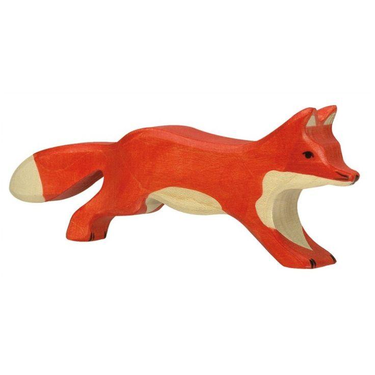 Fox Holztiger Wooden Toy | Worldwide shipping www.minizoo.com.au