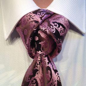 Corbata con estilo único