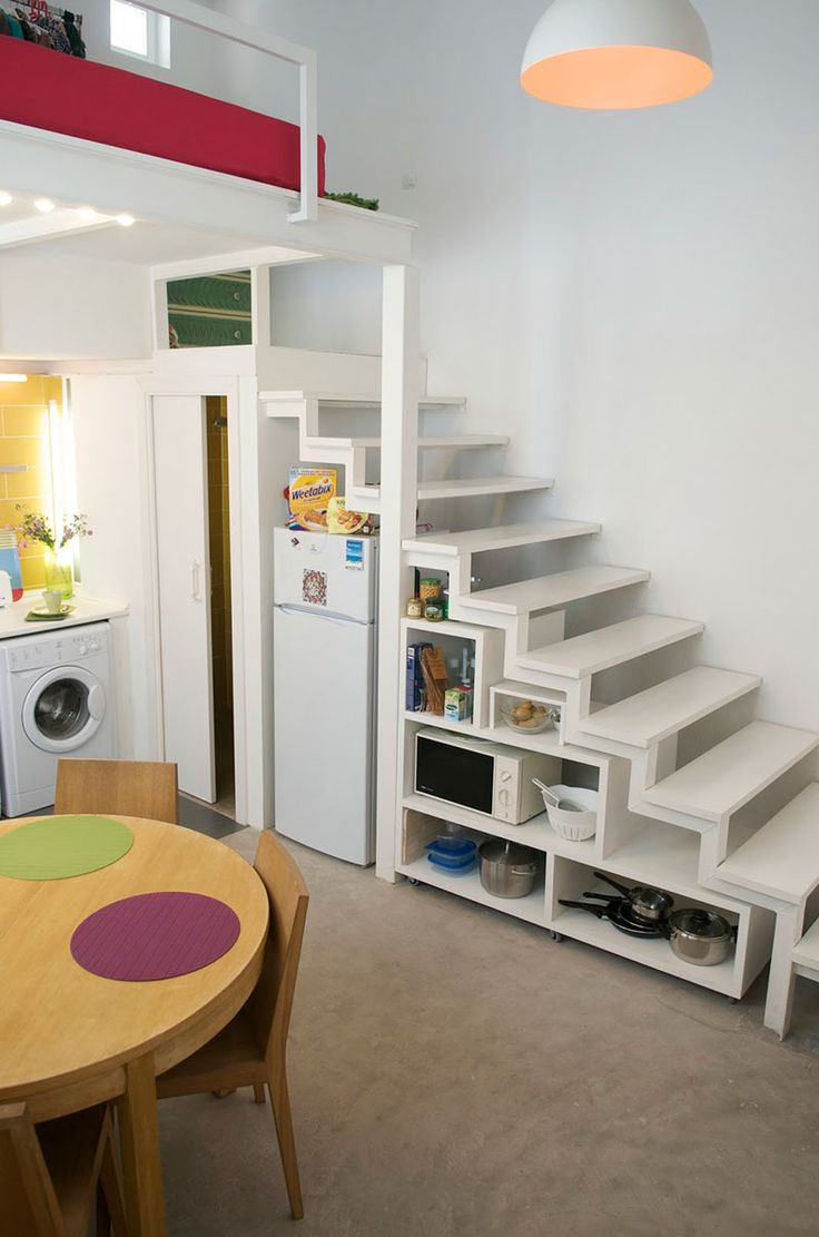 17 mejores ideas sobre escaleras para espacios reducidos - Escaleras para casas pequenas ...