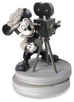 WDCC Disney Classics - Mickey Mouse Club Mickey Mouse Behind The Camera - View WDCC Disney Classics Art Gallery.