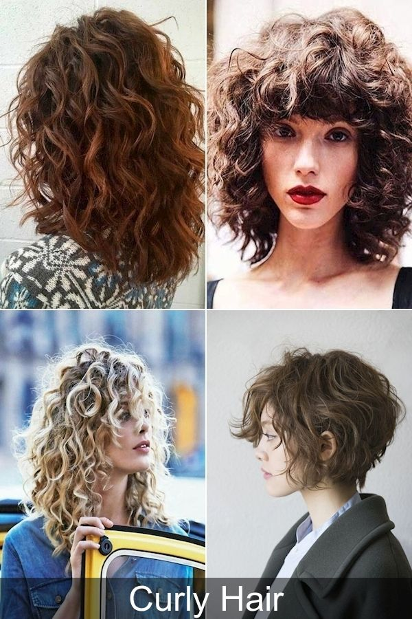 Latest Hair Style Popular Curly Hairstyles 2016 Easy Hairstyles For Short Curly Hair In 2020 Curly Hair Styles Short Wavy Hair Short Curly Hair