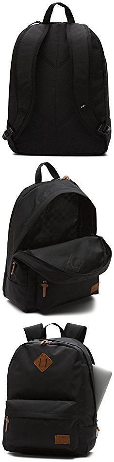 Vans Backpack Men. Vans mens OLD SKOOL PLUS BA VN-02TM9RJ - True Black.  #vans #backpack #men #vansbackpack #backpackmen