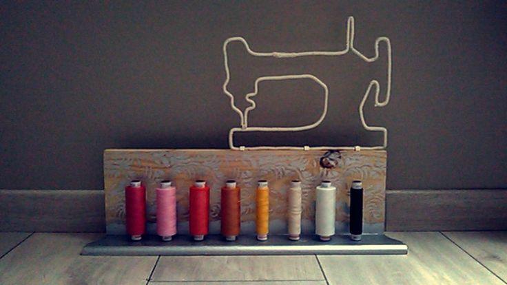 Porte bobines en bois - www.monbookcouture.canalblog.com