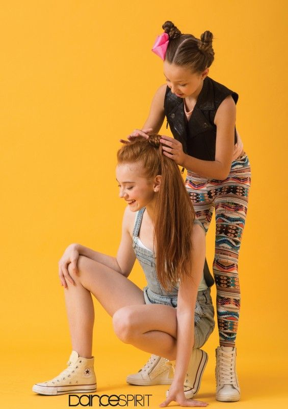 Ashi Ross and Sophia Lucia (photo by Erin Baiano)