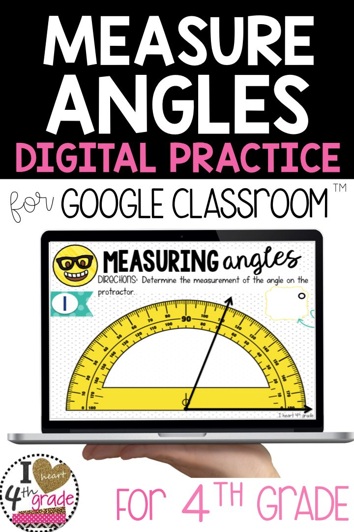 Google Classroom Measuring Angles Digital Task Cards ...