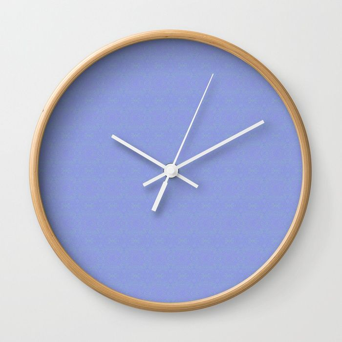 Available In Natural Wood Black Or White Frames Our 10 Diameter Unique Wall Clocks Feature A High Impact Plexiglass Blue Clocks Wall Clock Minimalist Clocks