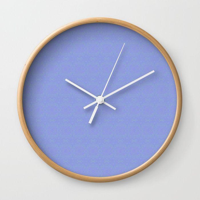 Available In Natural Wood Black Or White Frames Our 10 Diameter Unique Wall Clocks Feature A High Impact Plexiglass Blue Clocks Wall Clock Minimalist Clocks