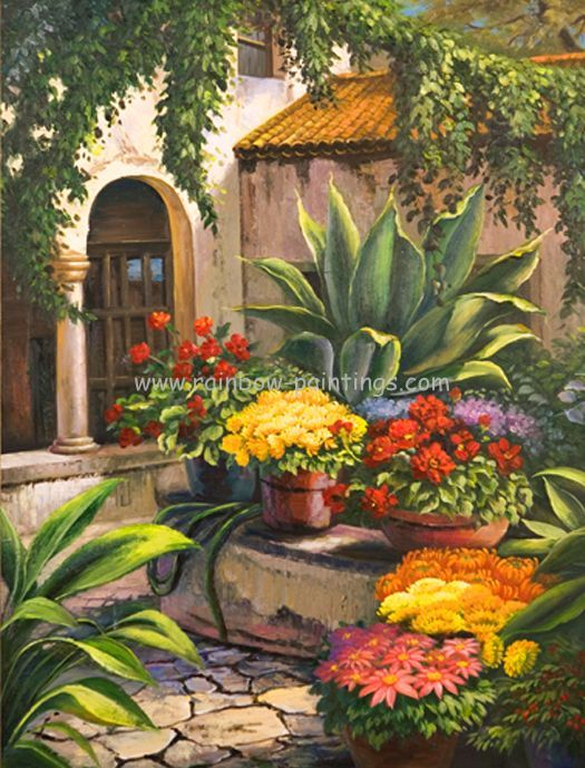 """El Jardin"" Artist Chris Morel"