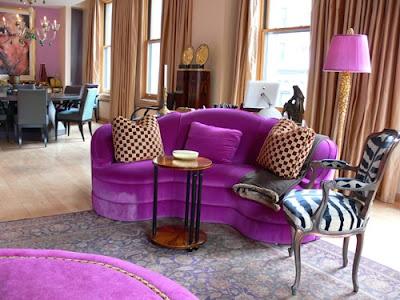 Die besten 25+ Purple i shaped sofas Ideen auf Pinterest gelbe l - wohnzimmer modern lila