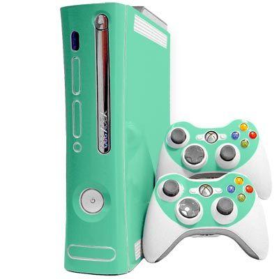 Seafoam Xbox 360 Skin -  Device Skins, Microsoft Xbox 360 Skins, Xbox 360 Skins