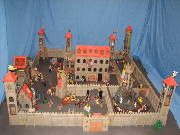 custom made playmobil castle