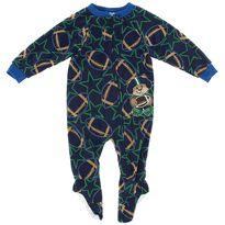 Green Teddy Bear Football Blanket Sleeper for Boys $7.99