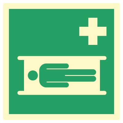 Sykebåre - Kjøp Nødskilt i netbutikken